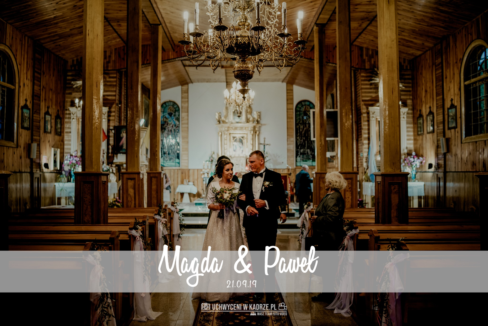 Magda i Paweł | Reportaż Ślubny | Cyców