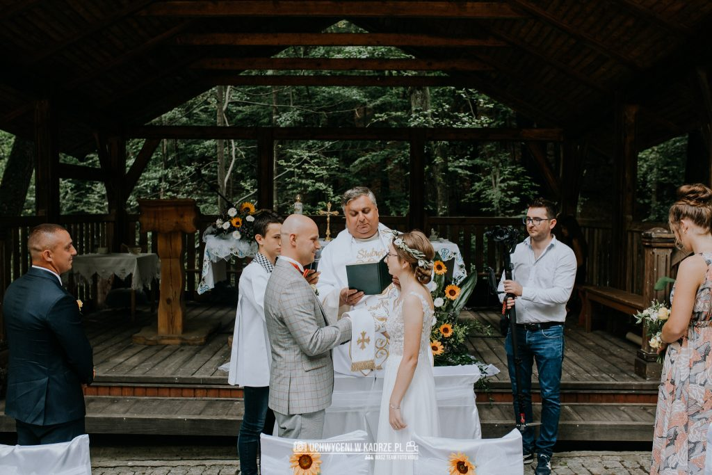 Iza Bartek Ślub w lesie Horyniec Zdrój 100 1024x683 - Plenerowy Ślub w lesie + Teledysk Ślubny | Horyniec Zdrój