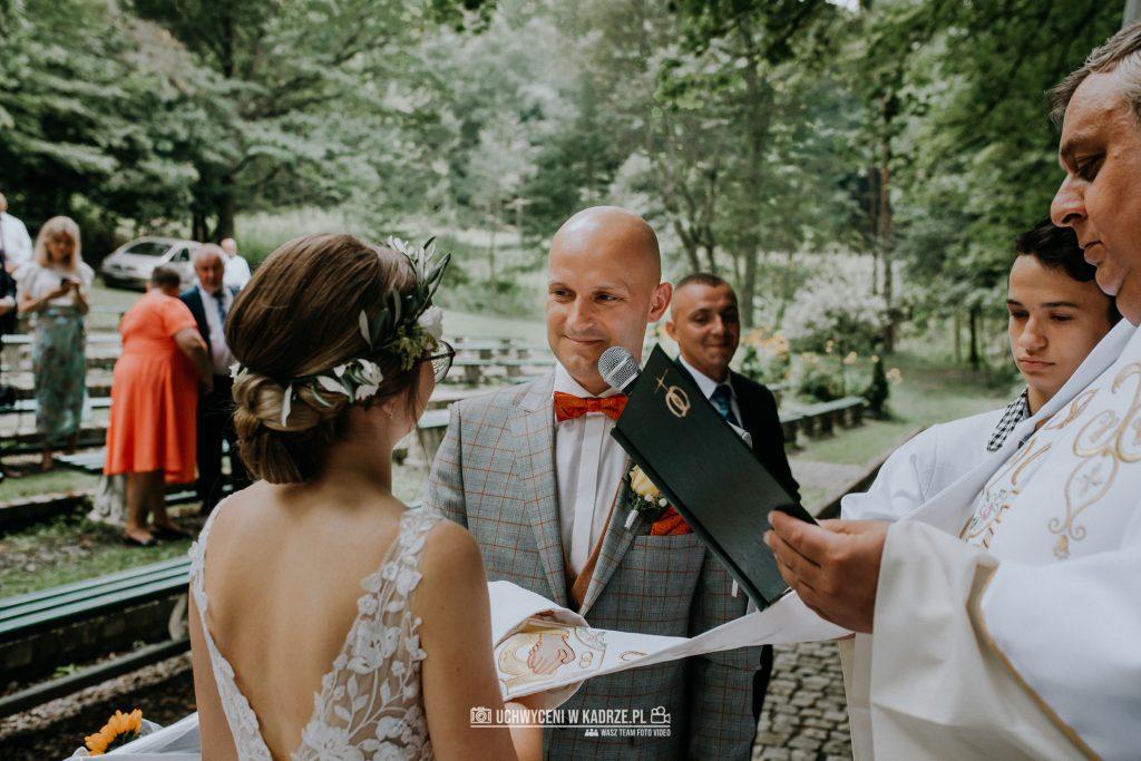 Iza Bartek Ślub w lesie Horyniec Zdrój 101 1024x683 - Plenerowy Ślub w lesie + Teledysk Ślubny | Horyniec Zdrój