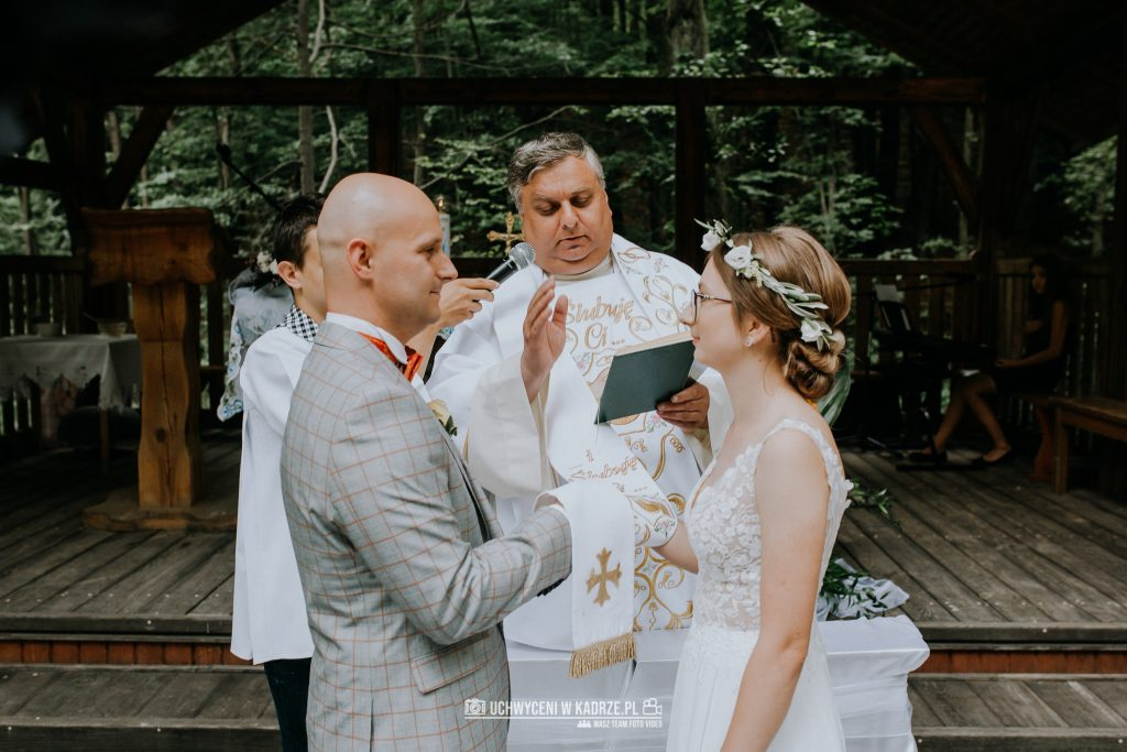 Iza Bartek Ślub w lesie Horyniec Zdrój 106 1024x683 - Plenerowy Ślub w lesie + Teledysk Ślubny | Horyniec Zdrój