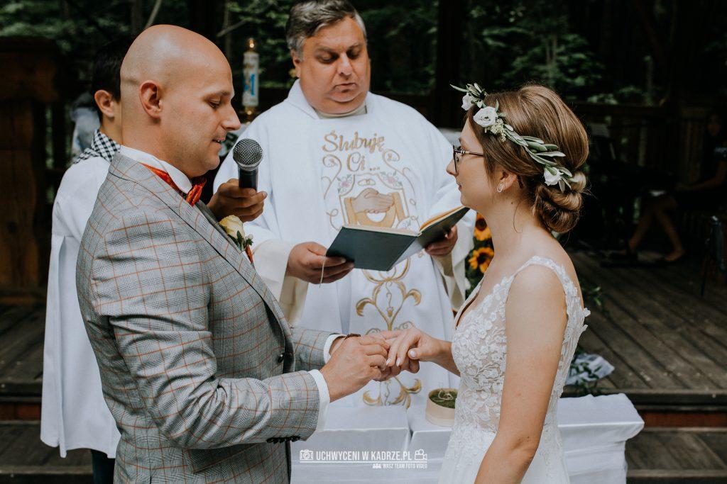 Iza Bartek Ślub w lesie Horyniec Zdrój 110 1024x683 - Plenerowy Ślub w lesie + Teledysk Ślubny | Horyniec Zdrój