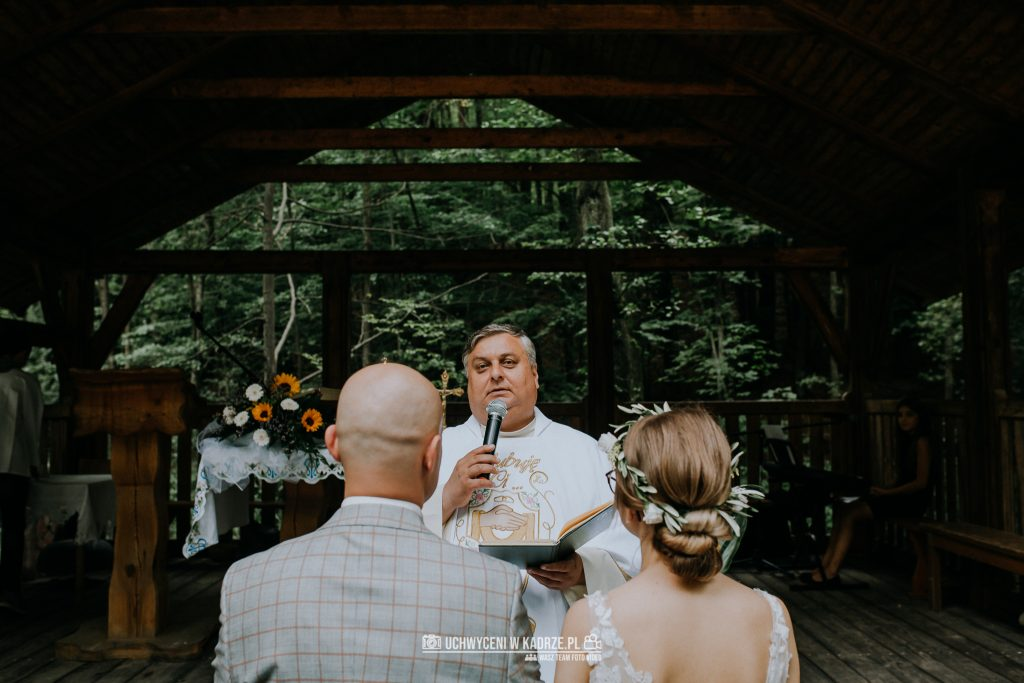 Iza Bartek Ślub w lesie Horyniec Zdrój 114 1024x683 - Plenerowy Ślub w lesie + Teledysk Ślubny | Horyniec Zdrój