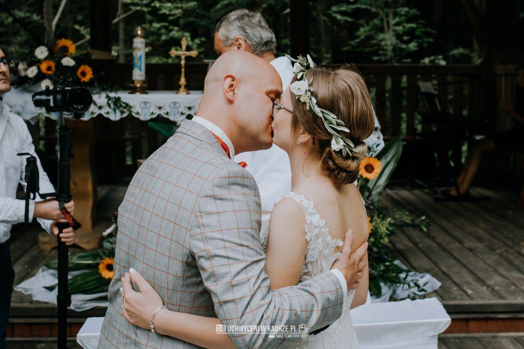 Iza Bartek Ślub w lesie Horyniec Zdrój 115 1024x683 - Plenerowy Ślub w lesie + Teledysk Ślubny | Horyniec Zdrój