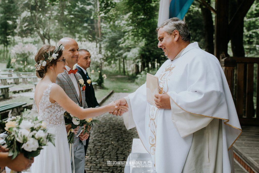 Iza Bartek Ślub w lesie Horyniec Zdrój 129 1024x683 - Plenerowy Ślub w lesie + Teledysk Ślubny | Horyniec Zdrój