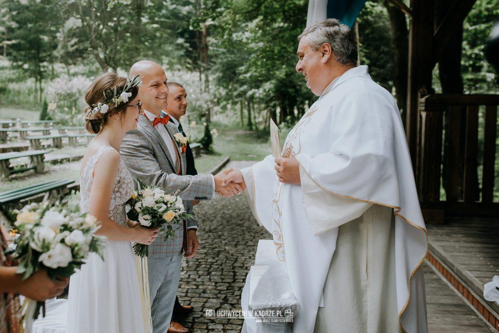 Iza Bartek Ślub w lesie Horyniec Zdrój 130 1024x683 - Plenerowy Ślub w lesie + Teledysk Ślubny | Horyniec Zdrój