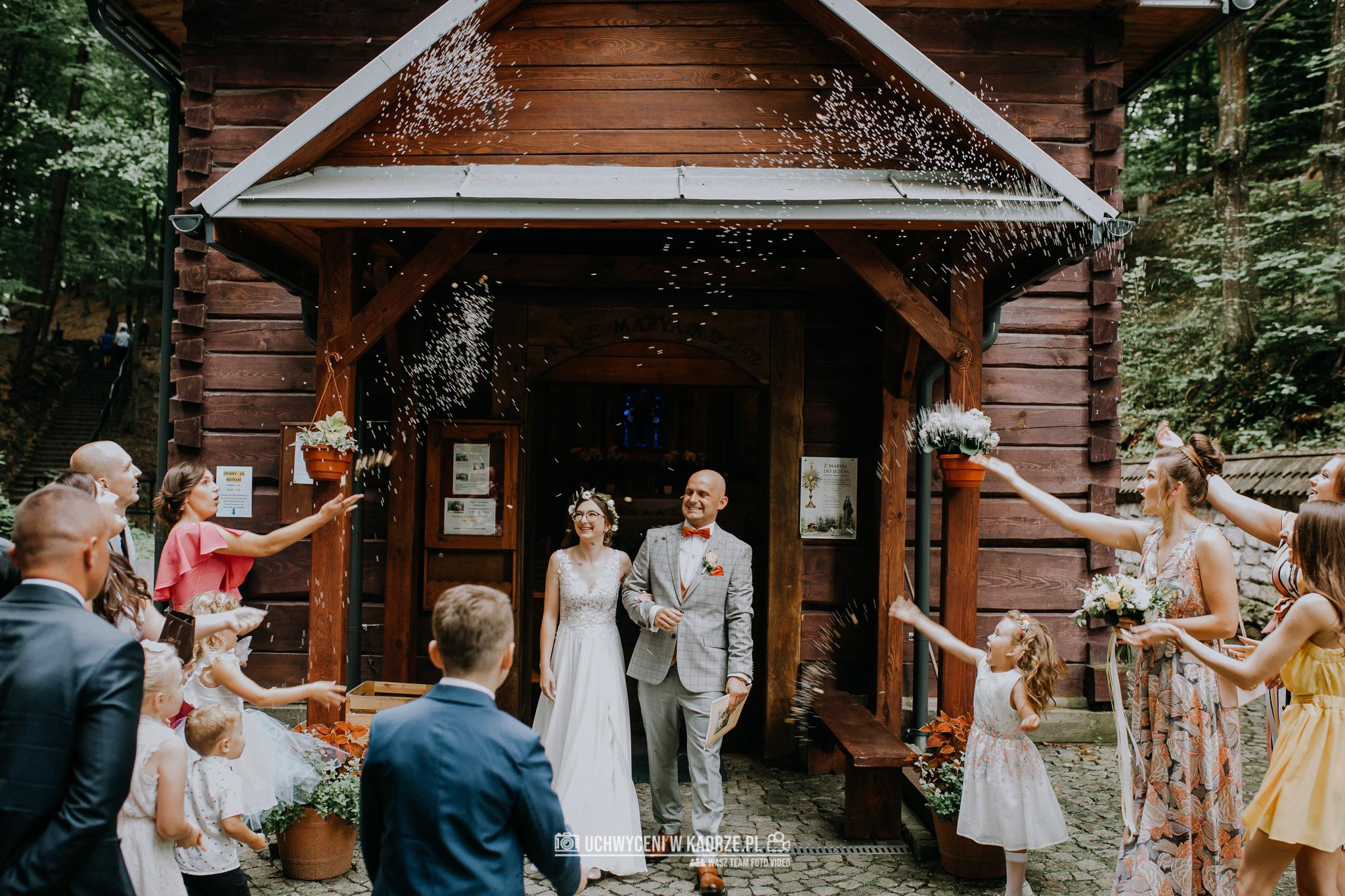 Plenerowy Ślub w lesie