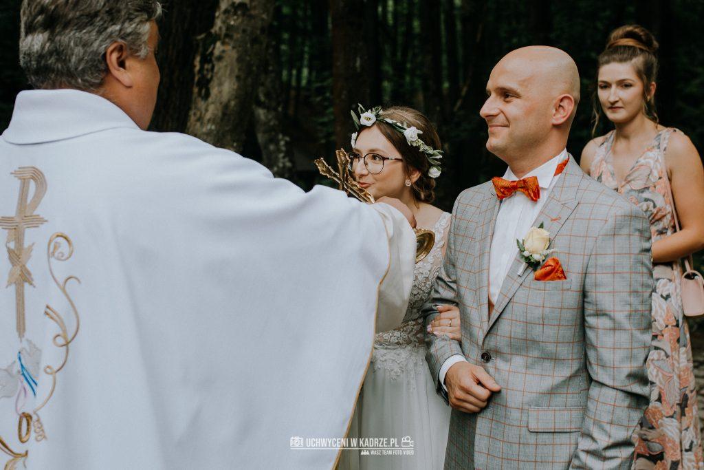 Iza Bartek Ślub w lesie Horyniec Zdrój 88 1024x683 - Plenerowy Ślub w lesie + Teledysk Ślubny | Horyniec Zdrój