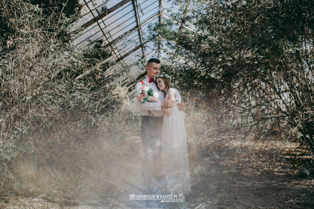 Karolina Michal Sesja Boho 19 1024x683 - Sesja BOHO w opuszczonej szklarni