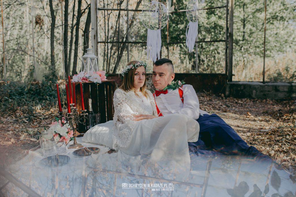 Karolina Michal Sesja Boho 31 1024x683 - Sesja BOHO w opuszczonej szklarni