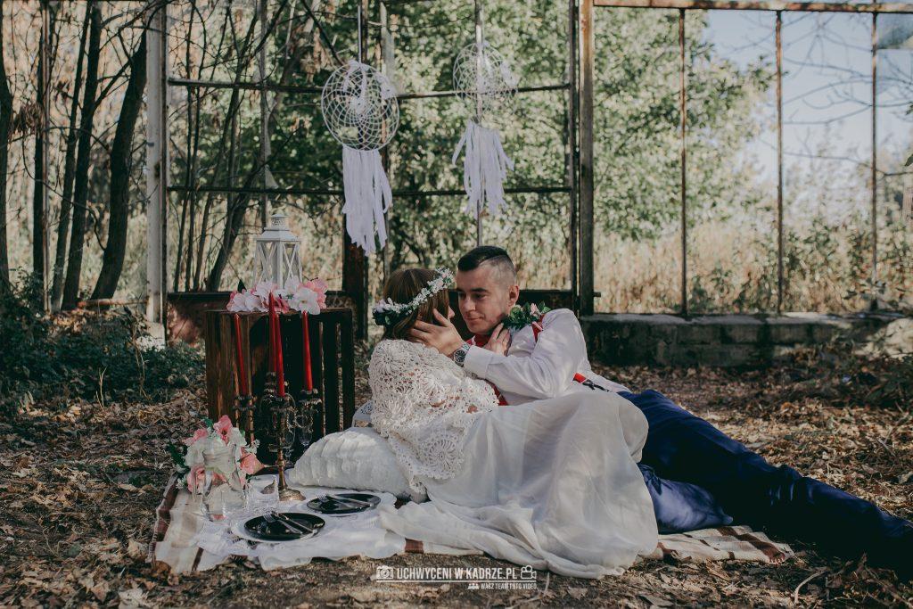 Karolina Michal Sesja Boho 32 1024x683 - Sesja BOHO w opuszczonej szklarni