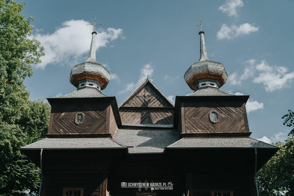 Magdalena Bartłomiej Fotografia Slubna 117 1024x683 - Ślub w zabytkowym drewnianym kościele | Tomaszów Lubelski