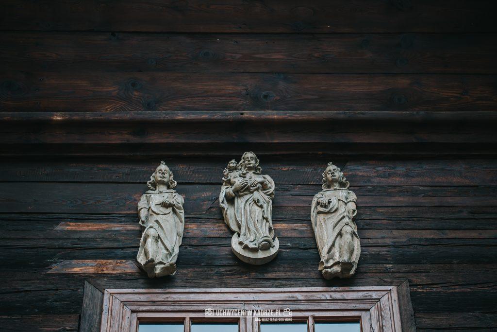 Magdalena Bartłomiej Fotografia Slubna 118 1024x683 - Ślub w zabytkowym drewnianym kościele | Tomaszów Lubelski