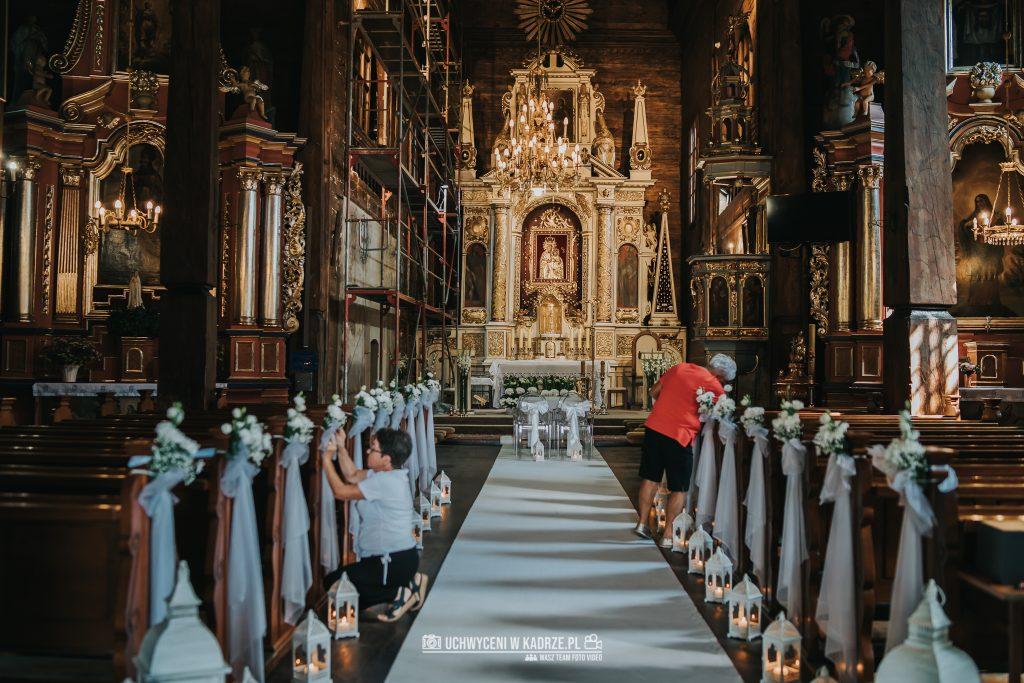 Magdalena Bartłomiej Fotografia Slubna 120 1024x683 - Ślub w zabytkowym drewnianym kościele | Tomaszów Lubelski