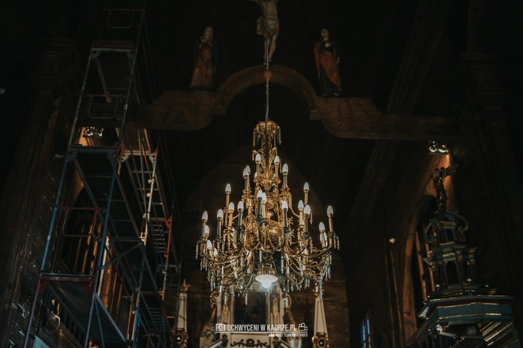 Magdalena Bartłomiej Fotografia Slubna 121 1024x683 - Ślub w zabytkowym drewnianym kościele | Tomaszów Lubelski