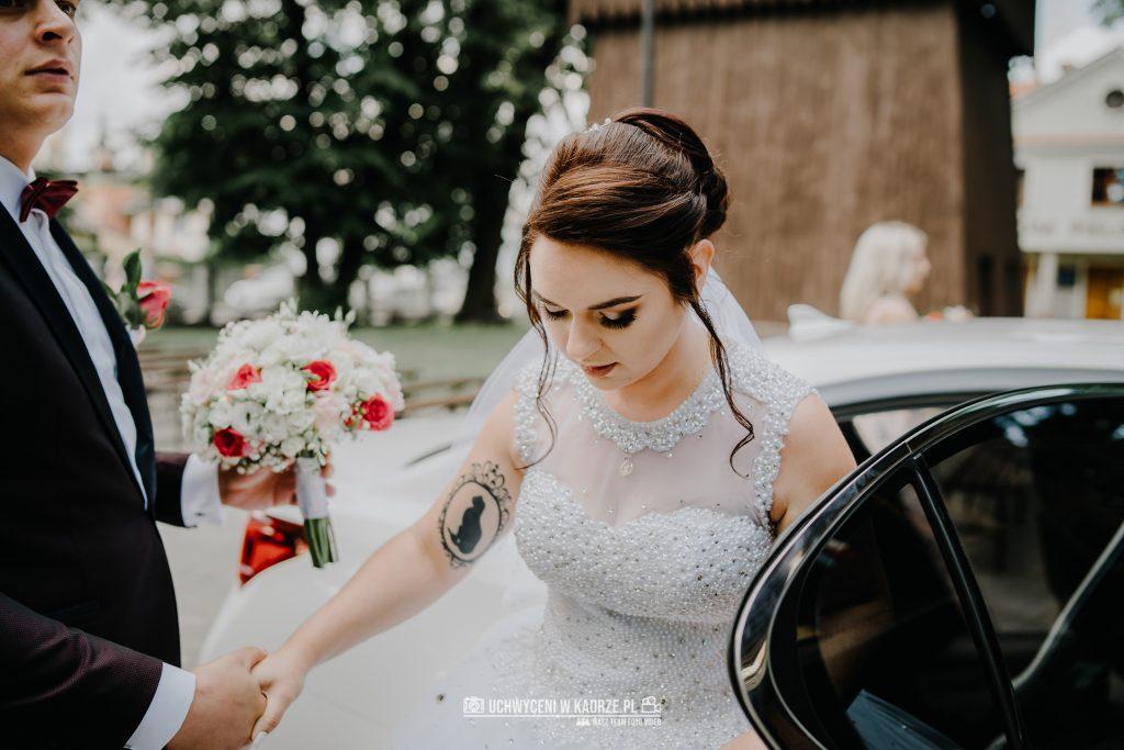 Magdalena Bartłomiej Fotografia Slubna 125 1024x683 - Ślub w zabytkowym drewnianym kościele | Tomaszów Lubelski