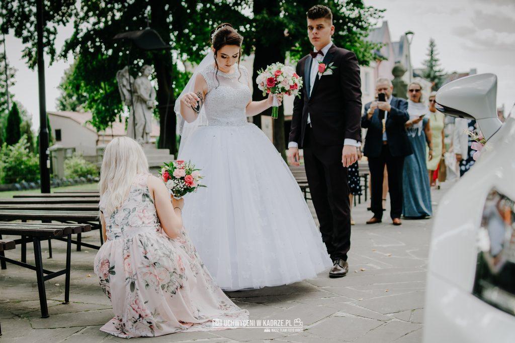 Magdalena Bartłomiej Fotografia Slubna 126 1024x683 - Ślub w zabytkowym drewnianym kościele | Tomaszów Lubelski