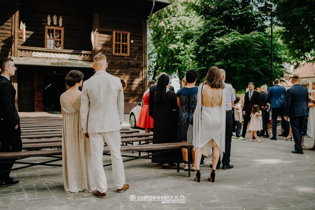 Magdalena Bartłomiej Fotografia Slubna 139 1024x683 - Ślub w zabytkowym drewnianym kościele | Tomaszów Lubelski