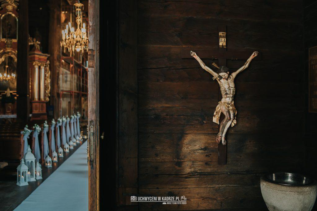 Magdalena Bartłomiej Fotografia Slubna 144 1024x683 - Ślub w zabytkowym drewnianym kościele | Tomaszów Lubelski