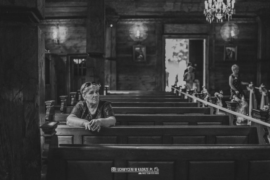 Magdalena Bartłomiej Fotografia Slubna 146 1024x683 - Ślub w zabytkowym drewnianym kościele | Tomaszów Lubelski