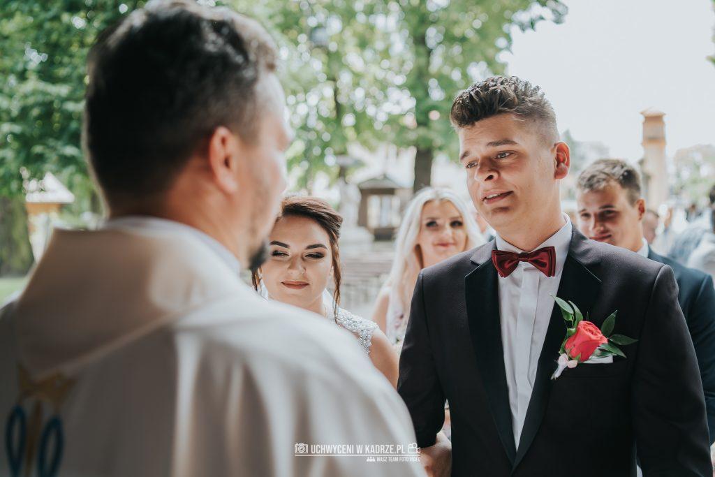 Magdalena Bartłomiej Fotografia Slubna 148 1024x683 - Ślub w zabytkowym drewnianym kościele | Tomaszów Lubelski