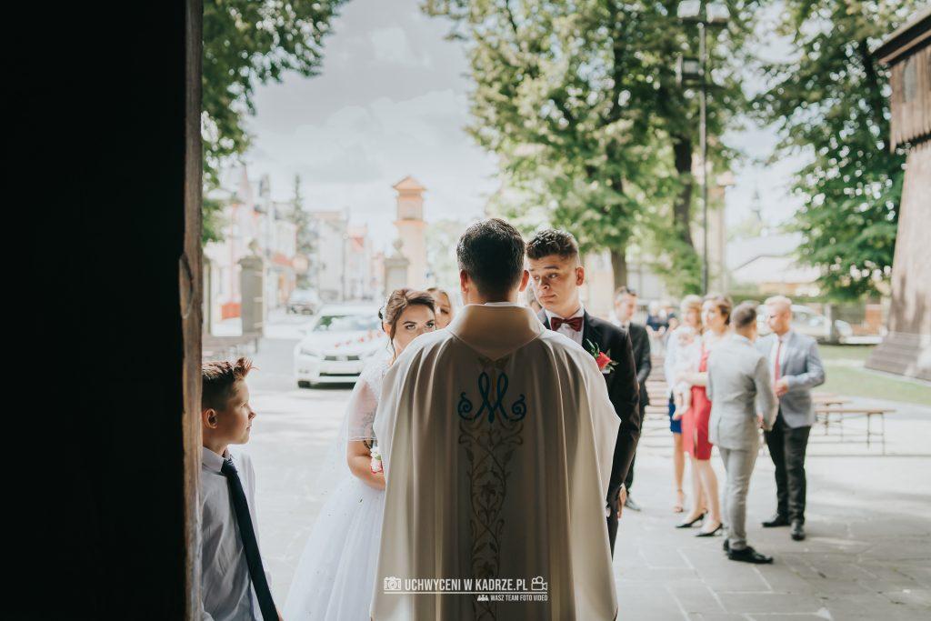 Magdalena Bartłomiej Fotografia Slubna 150 1024x683 - Ślub w zabytkowym drewnianym kościele | Tomaszów Lubelski
