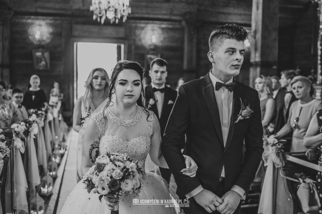 Magdalena Bartłomiej Fotografia Slubna 151 1024x683 - Ślub w zabytkowym drewnianym kościele | Tomaszów Lubelski