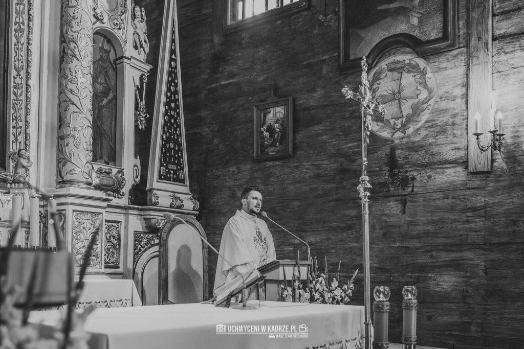 Magdalena Bartłomiej Fotografia Slubna 152 1024x683 - Ślub w zabytkowym drewnianym kościele | Tomaszów Lubelski