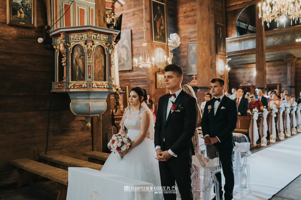 Magdalena Bartłomiej Fotografia Slubna 154 1024x683 - Ślub w zabytkowym drewnianym kościele | Tomaszów Lubelski