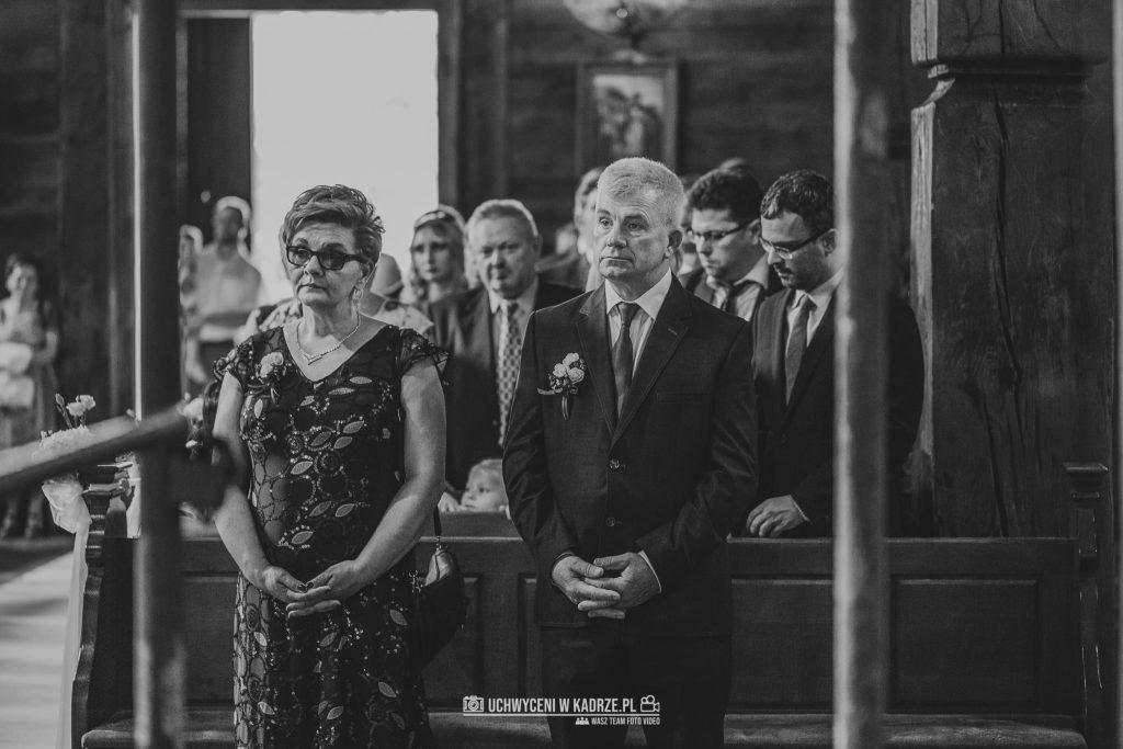 Magdalena Bartłomiej Fotografia Slubna 155 1024x683 - Ślub w zabytkowym drewnianym kościele | Tomaszów Lubelski