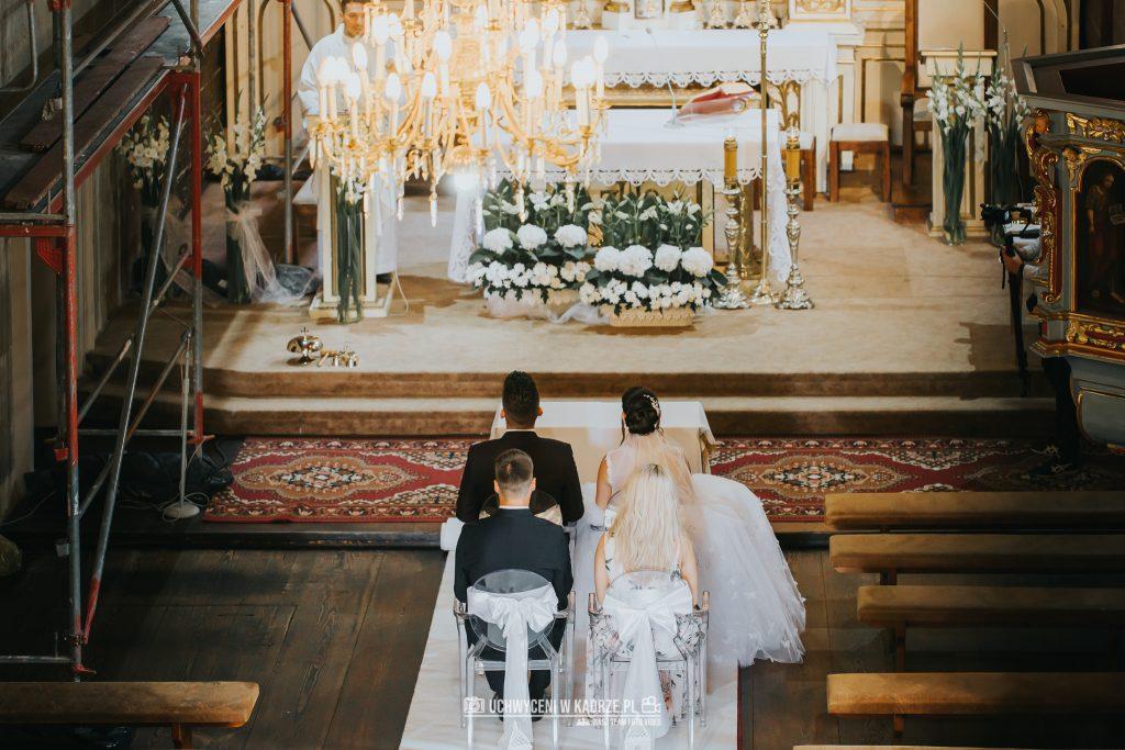 Magdalena Bartłomiej Fotografia Slubna 161 1024x683 - Ślub w zabytkowym drewnianym kościele | Tomaszów Lubelski