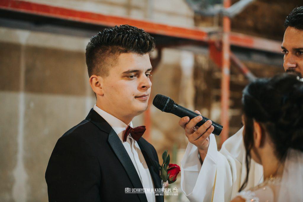 Magdalena Bartłomiej Fotografia Slubna 166 1024x683 - Ślub w zabytkowym drewnianym kościele | Tomaszów Lubelski