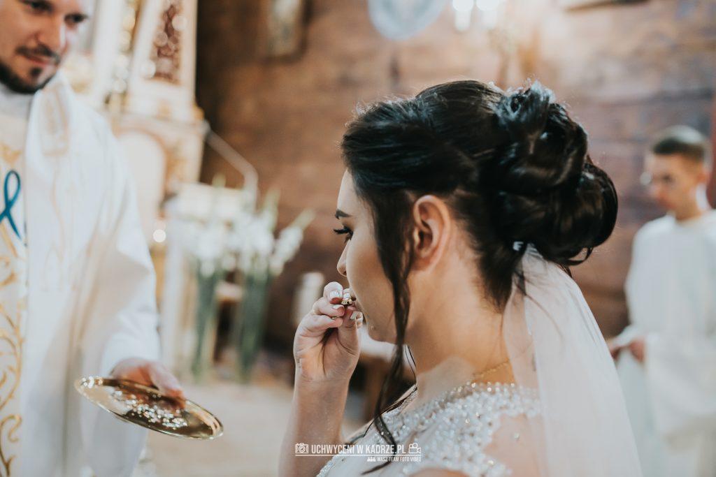 Magdalena Bartłomiej Fotografia Slubna 171 1024x683 - Ślub w zabytkowym drewnianym kościele | Tomaszów Lubelski