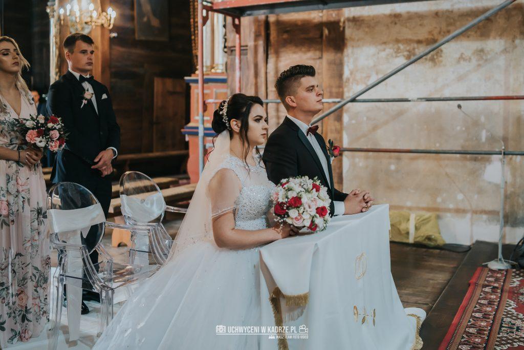 Magdalena Bartłomiej Fotografia Slubna 177 1024x683 - Ślub w zabytkowym drewnianym kościele | Tomaszów Lubelski