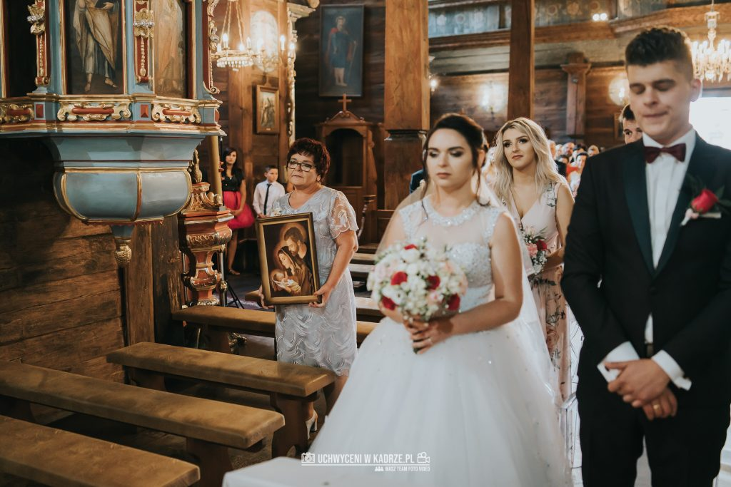 Magdalena Bartłomiej Fotografia Slubna 183 1024x683 - Ślub w zabytkowym drewnianym kościele | Tomaszów Lubelski