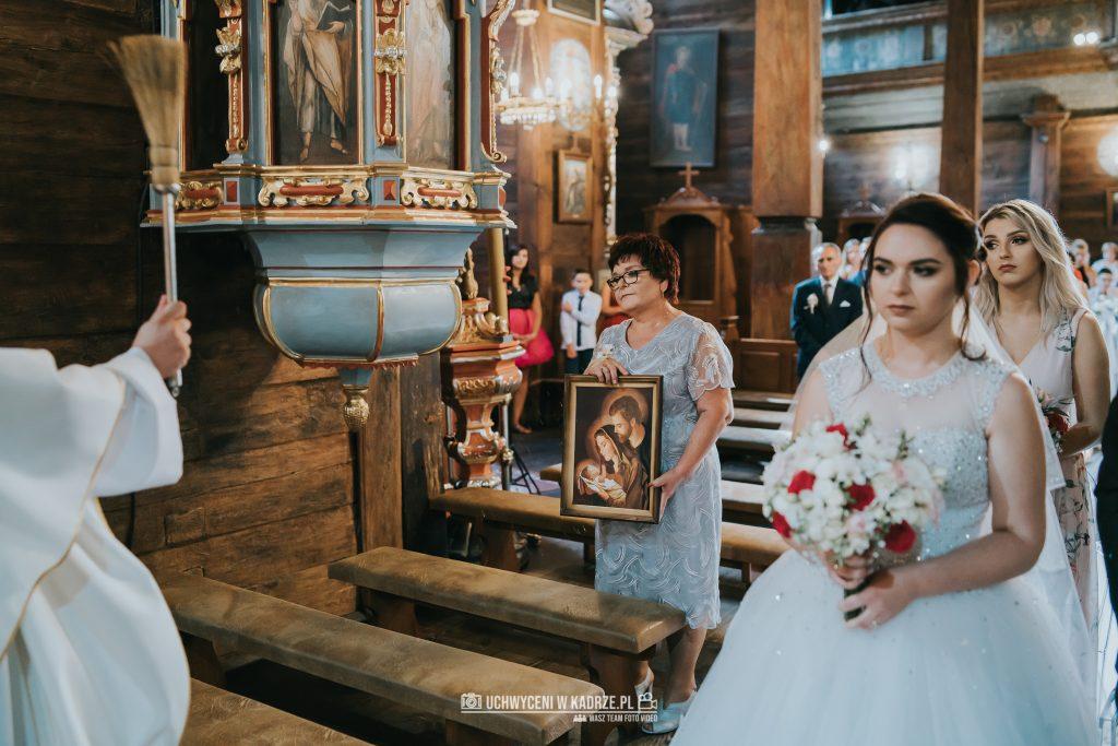 Magdalena Bartłomiej Fotografia Slubna 184 1024x683 - Ślub w zabytkowym drewnianym kościele | Tomaszów Lubelski