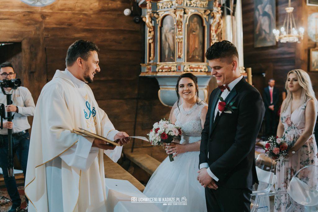 Magdalena Bartłomiej Fotografia Slubna 186 1024x683 - Ślub w zabytkowym drewnianym kościele | Tomaszów Lubelski
