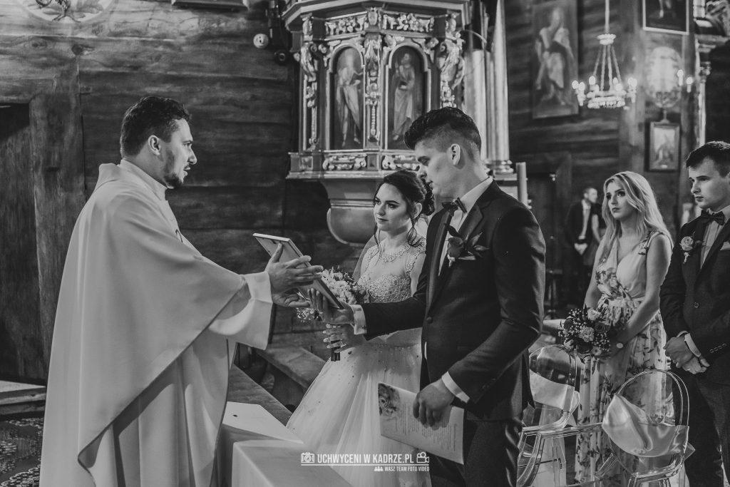 Magdalena Bartłomiej Fotografia Slubna 187 1024x683 - Ślub w zabytkowym drewnianym kościele | Tomaszów Lubelski