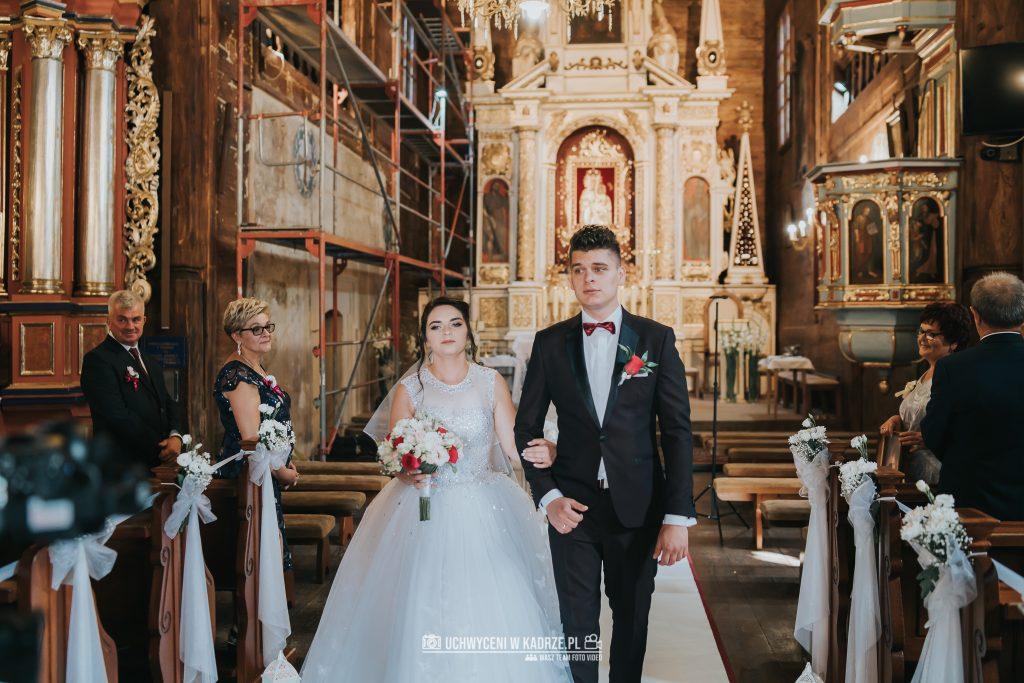 Magdalena Bartłomiej Fotografia Slubna 190 1024x683 - Ślub w zabytkowym drewnianym kościele | Tomaszów Lubelski