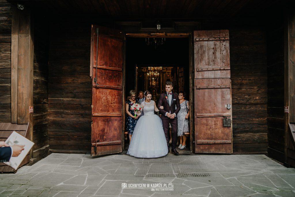 Magdalena Bartłomiej Fotografia Slubna 192 1024x683 - Ślub w zabytkowym drewnianym kościele | Tomaszów Lubelski