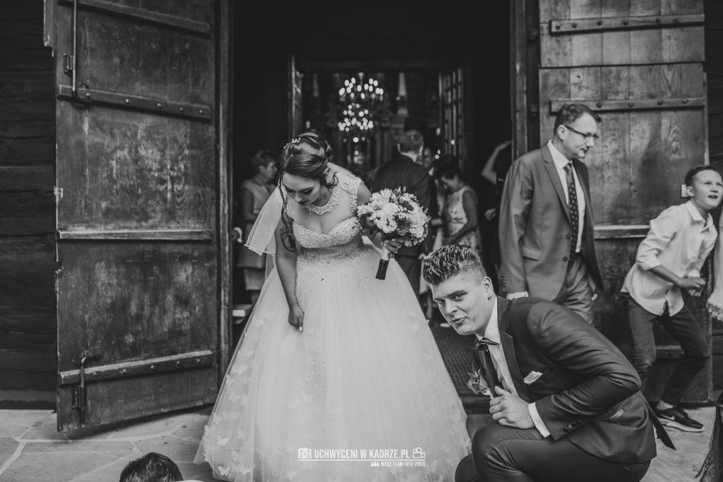 Magdalena Bartłomiej Fotografia Slubna 193 1024x683 - Ślub w zabytkowym drewnianym kościele | Tomaszów Lubelski