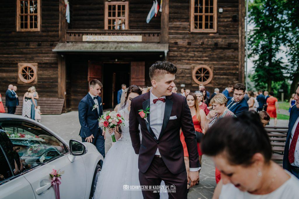 Magdalena Bartłomiej Fotografia Slubna 198 1024x683 - Ślub w zabytkowym drewnianym kościele | Tomaszów Lubelski