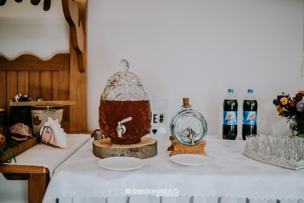 Magdalena Bartłomiej Fotografia Slubna 216 1024x683 - Ślub w zabytkowym drewnianym kościele | Tomaszów Lubelski