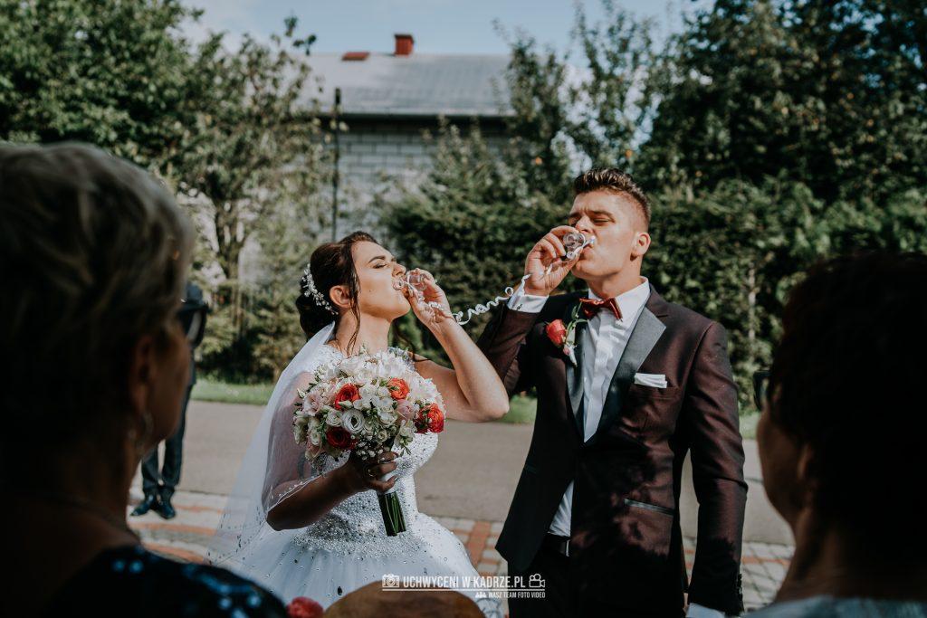 Magdalena Bartłomiej Fotografia Slubna 222 1024x683 - Ślub w zabytkowym drewnianym kościele | Tomaszów Lubelski