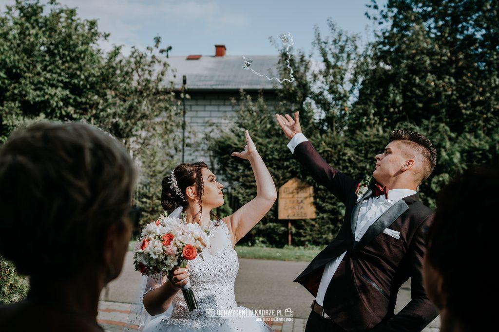 Magdalena Bartłomiej Fotografia Slubna 223 1024x683 - Ślub w zabytkowym drewnianym kościele | Tomaszów Lubelski
