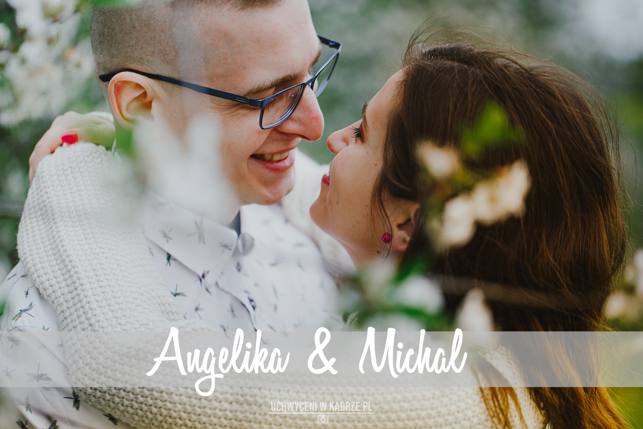 Wiosenna sesja narzeczeńska | Angelika i Michał
