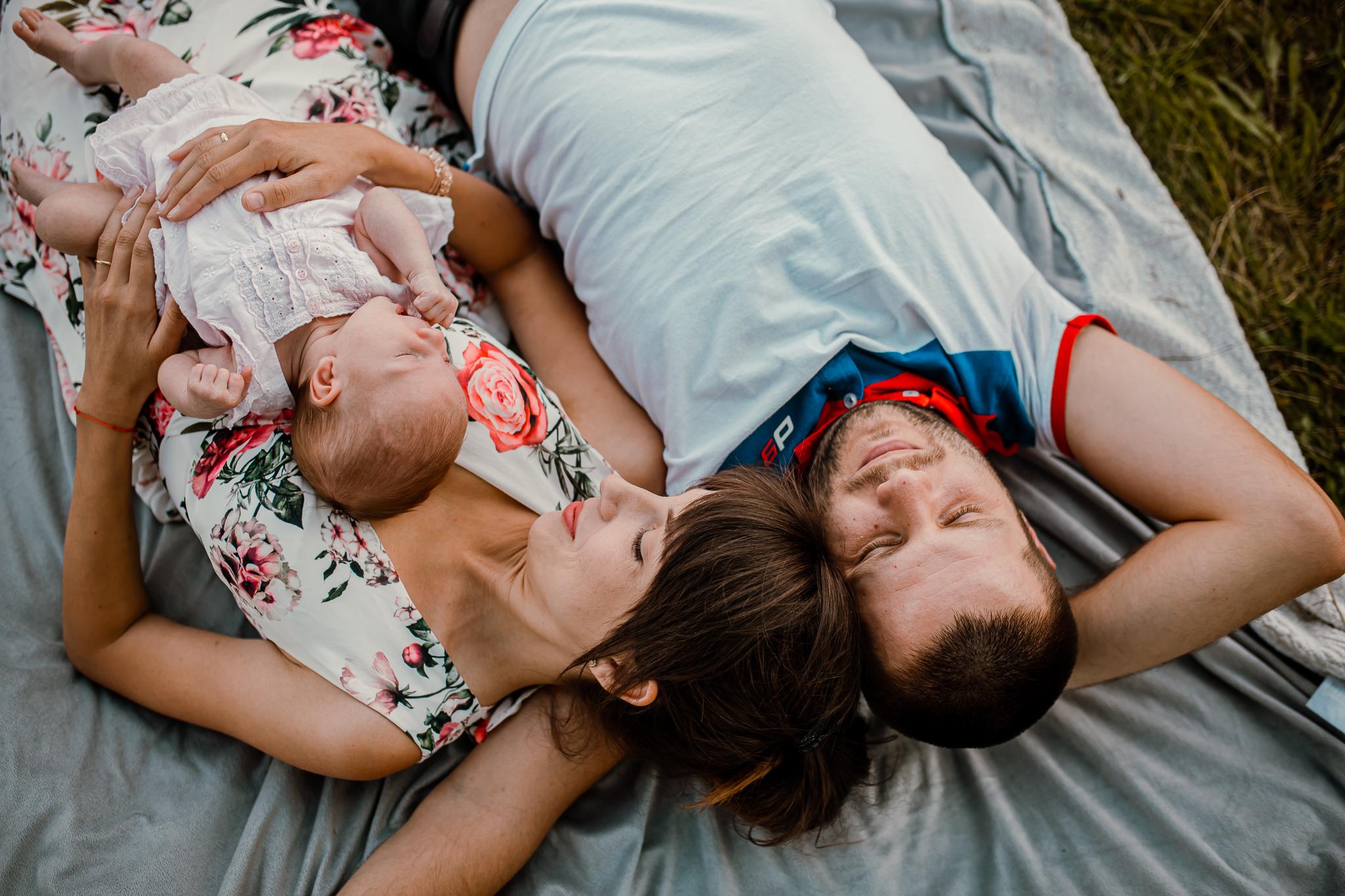Sesja noworodkowa w plenerze | Chełm | 19.07.2020