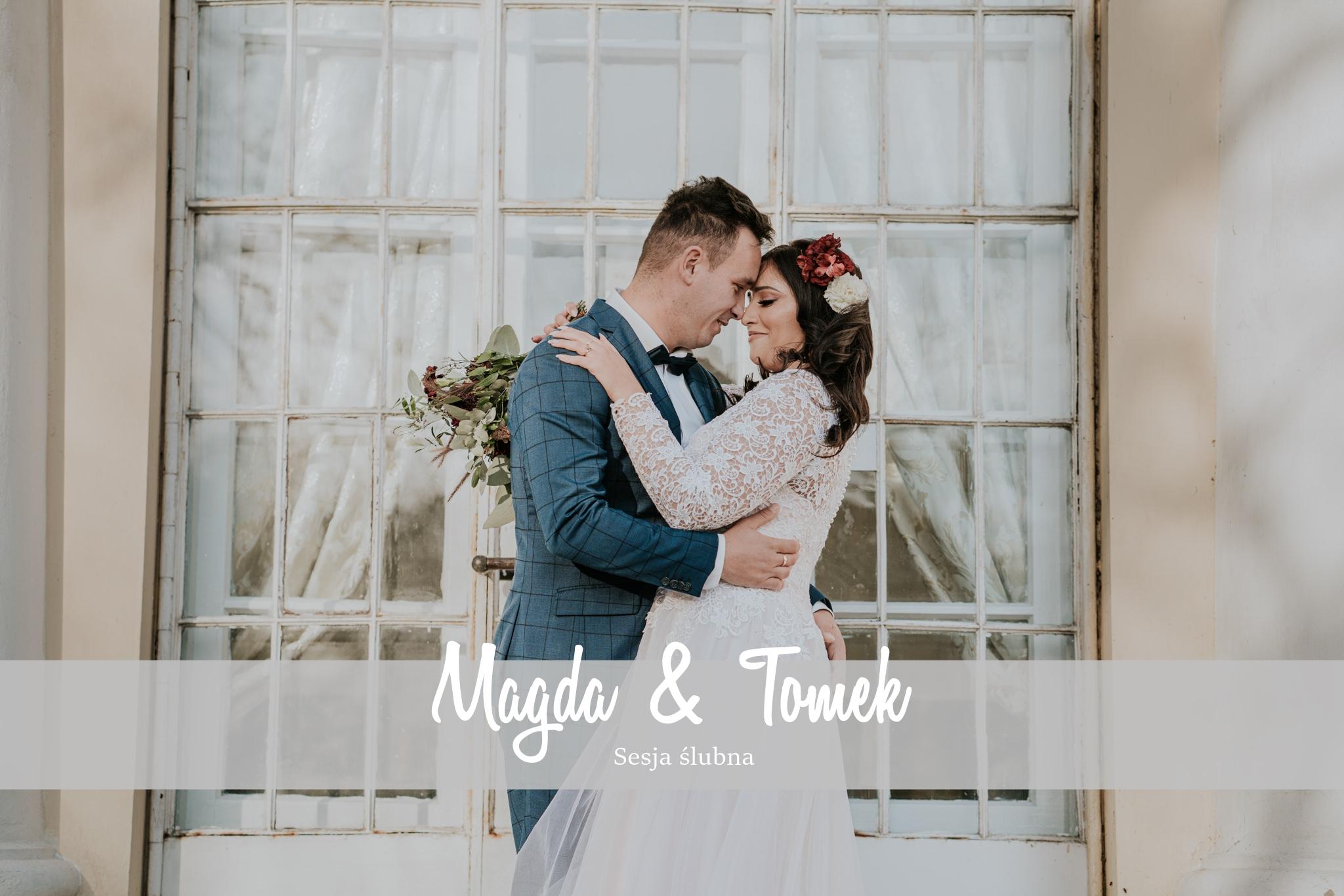 Sesja Ślubna Zespół pałacowo-parkowy   Rejowiec   Magda & Tomek   3.11.2019