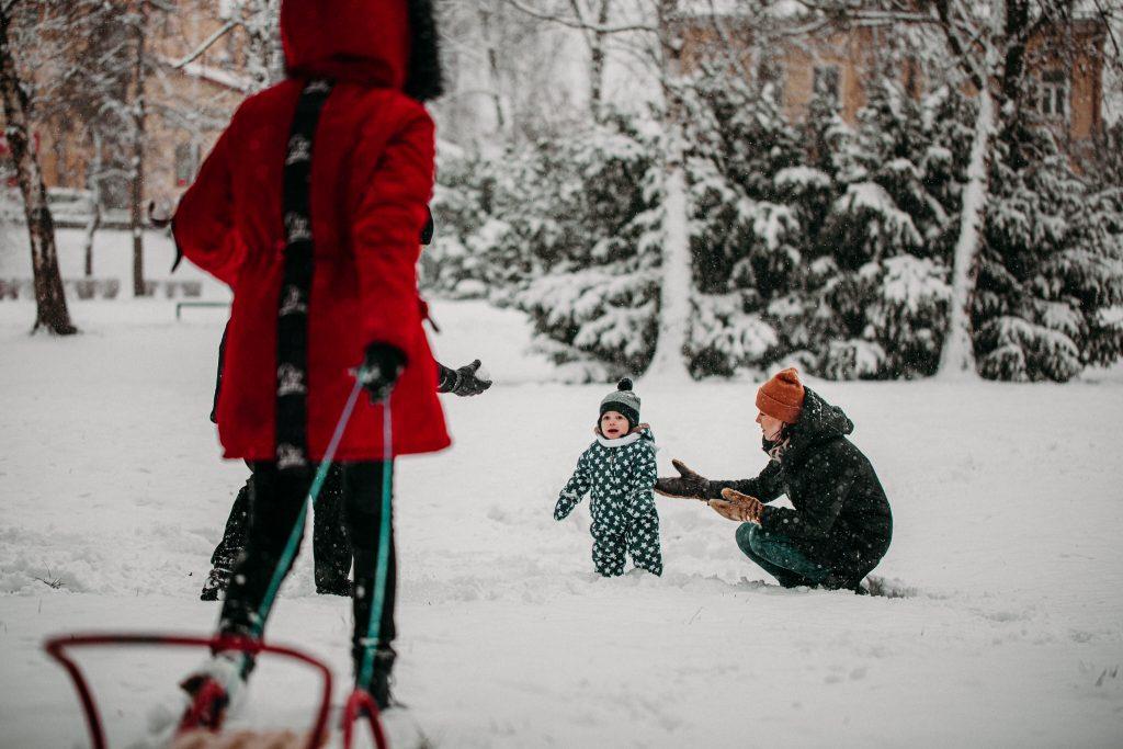 rodzinna sesja zimowa chelm 20 1024x683 - Justyna i Kamil z dziećmi – zimowa sesja rodzinna