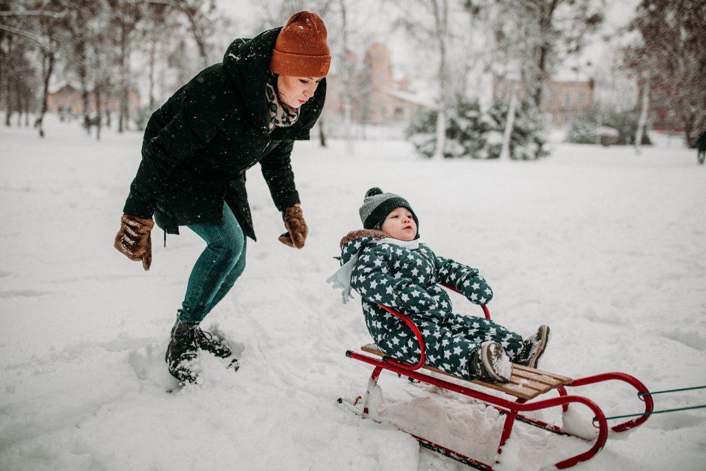 rodzinna sesja zimowa chelm 23 1024x683 - Justyna i Kamil z dziećmi – zimowa sesja rodzinna