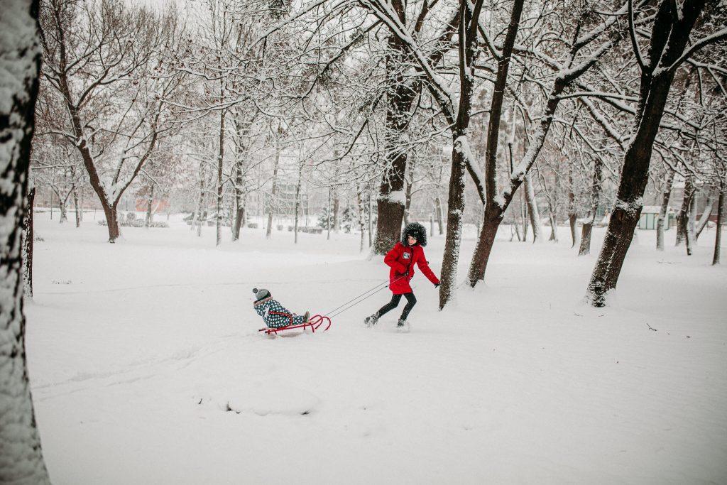 rodzinna sesja zimowa chelm 24 1024x683 - Justyna i Kamil z dziećmi – zimowa sesja rodzinna